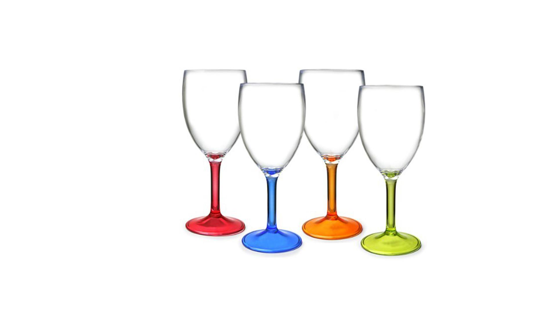 Acrylic Wine Glasses - Celebrity Big Brother 2017