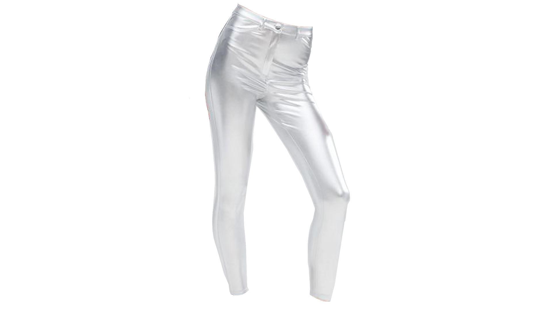 High Waist Shimmer Pants - Lady Leshurr - Juice