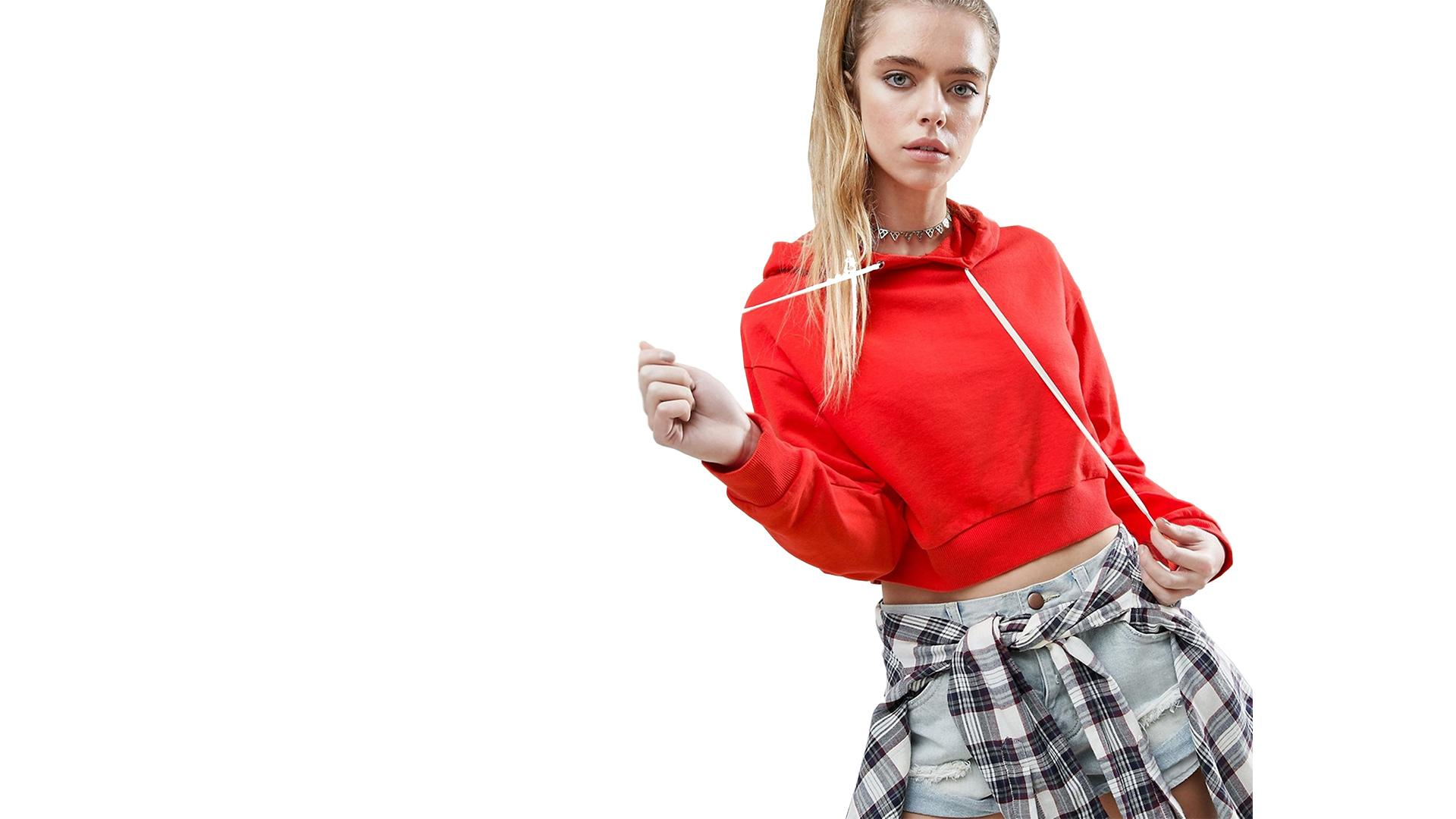 Cropped  Hoodie - Lady Leshurr