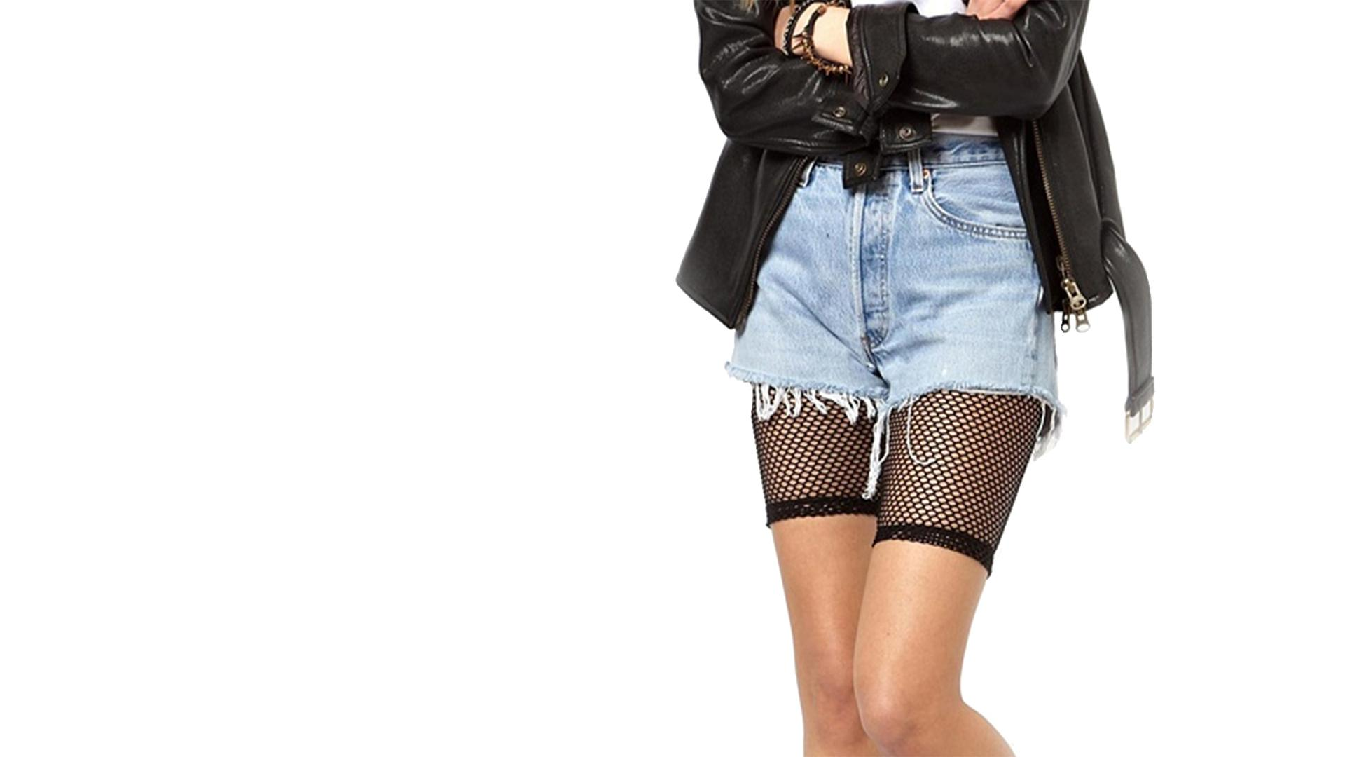 Fishnet Legging Shorts - 5 After Midnight - Up In Here