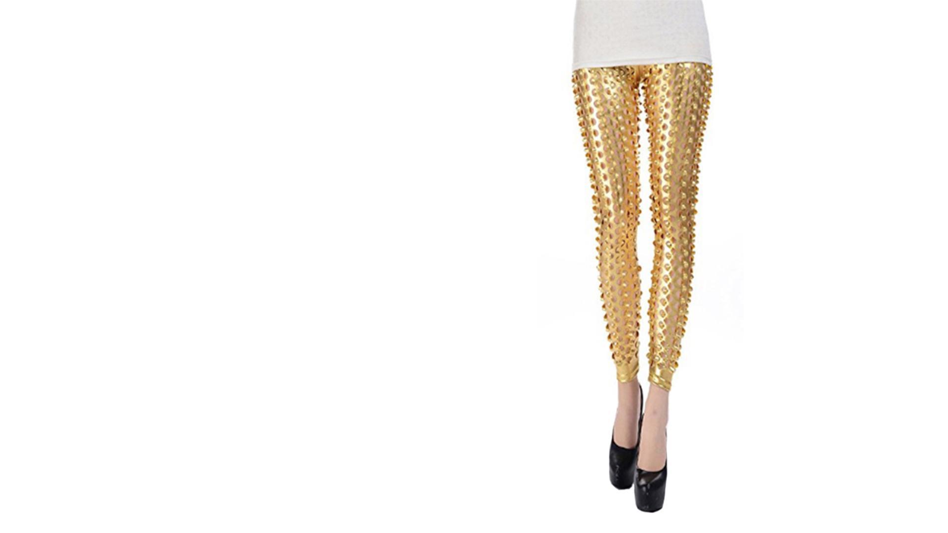 Gold Leggings - Louisa Johnson