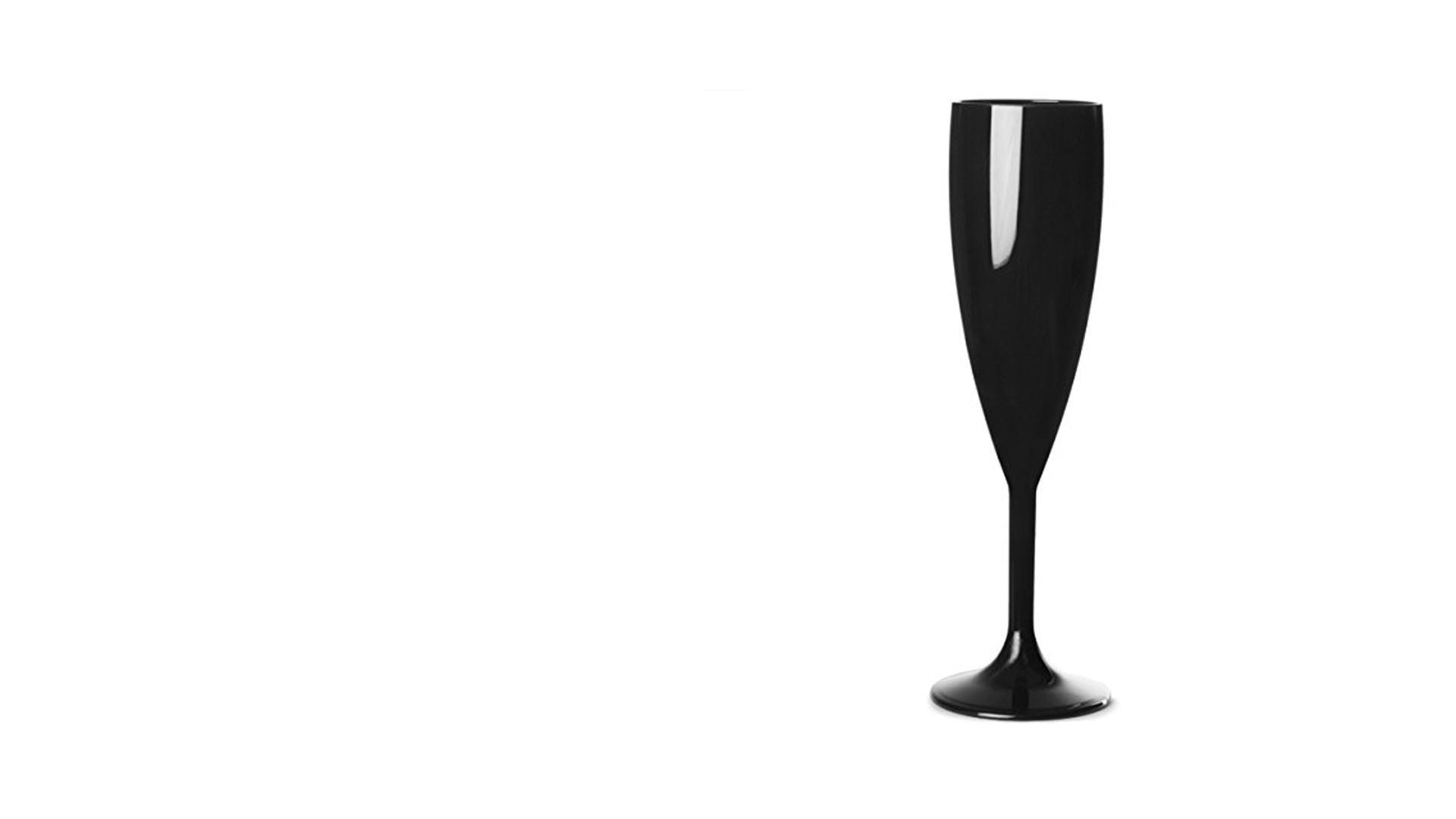 Black Champagne Flute - Big Brother 2017
