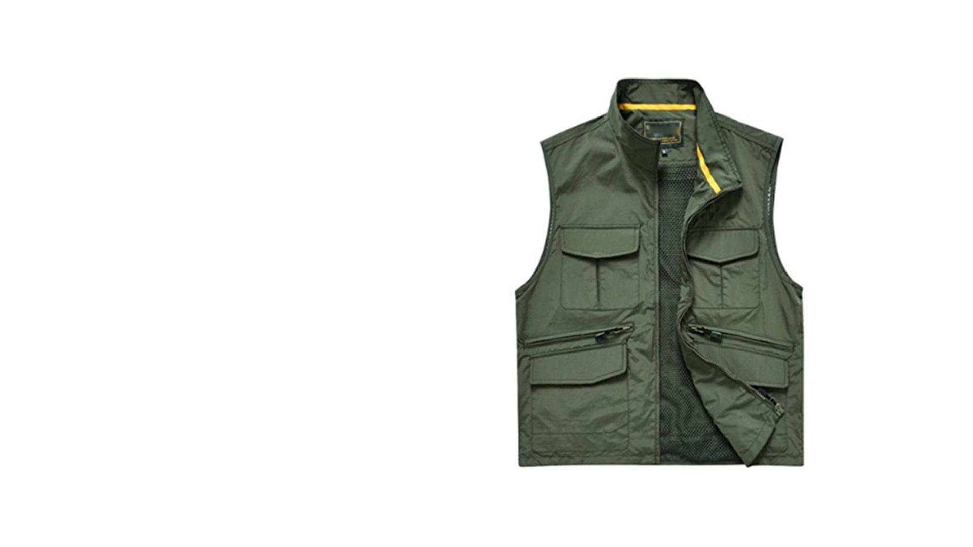 Multi Pocket Vest - Khalid