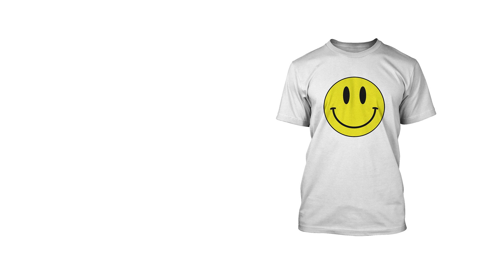 smiley face t shirt. Black Bedroom Furniture Sets. Home Design Ideas