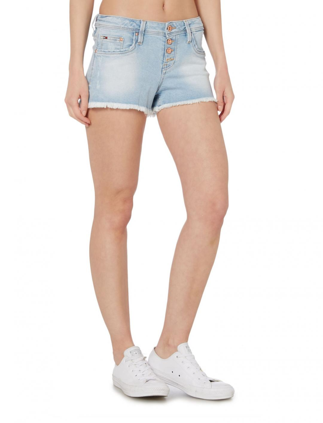 "Light Denim Shorts {""id"":5,""product_section_id"":1,""name"":""Clothing"",""order"":5} Tommy Hilfiger"