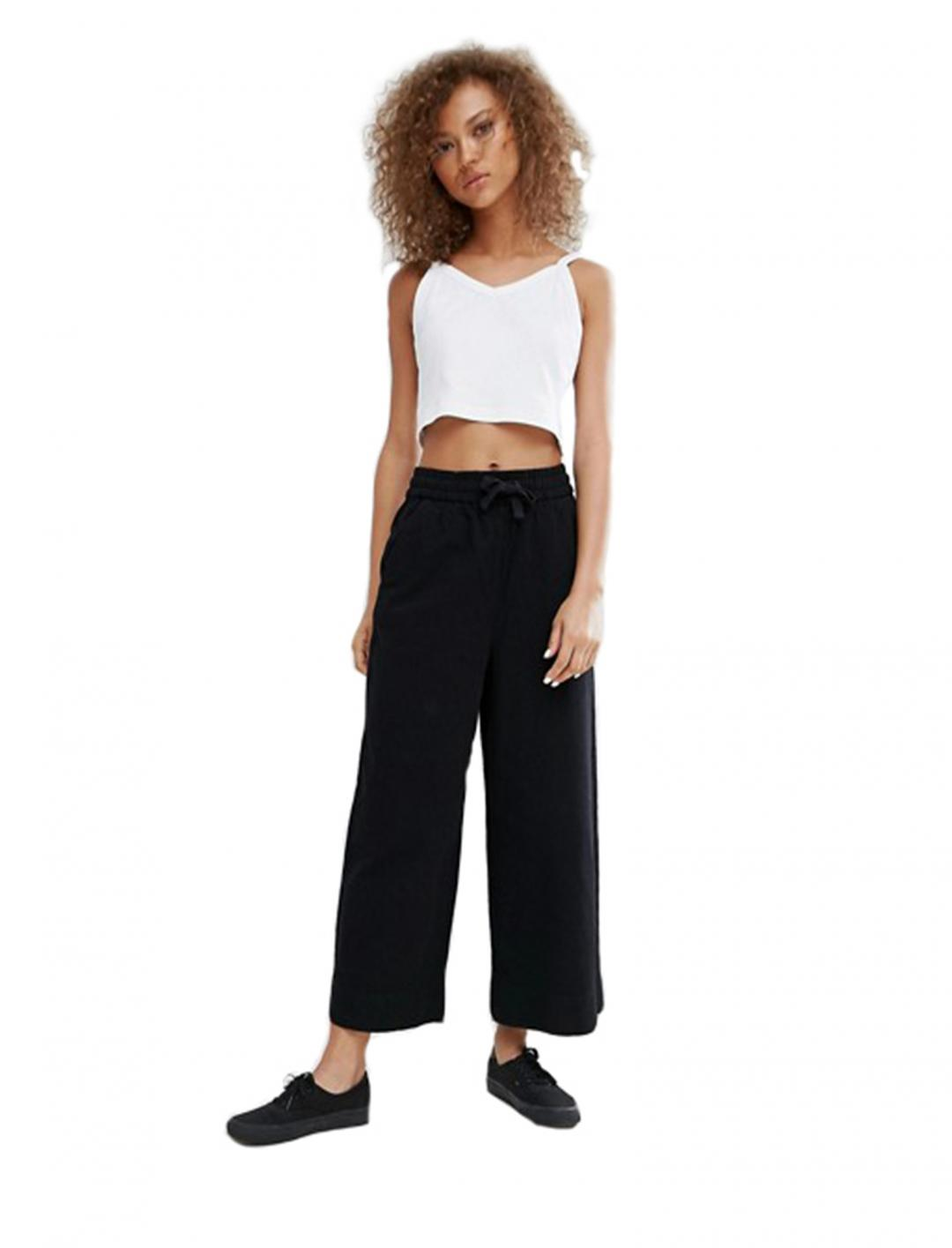 "Crop Rib Top {""id"":5,""product_section_id"":1,""name"":""Clothing"",""order"":5} Weekday"