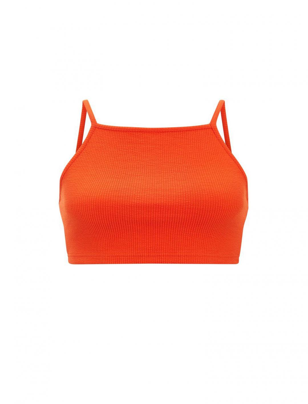 "Ribbed Crop Top {""id"":5,""product_section_id"":1,""name"":""Clothing"",""order"":5} New Look"