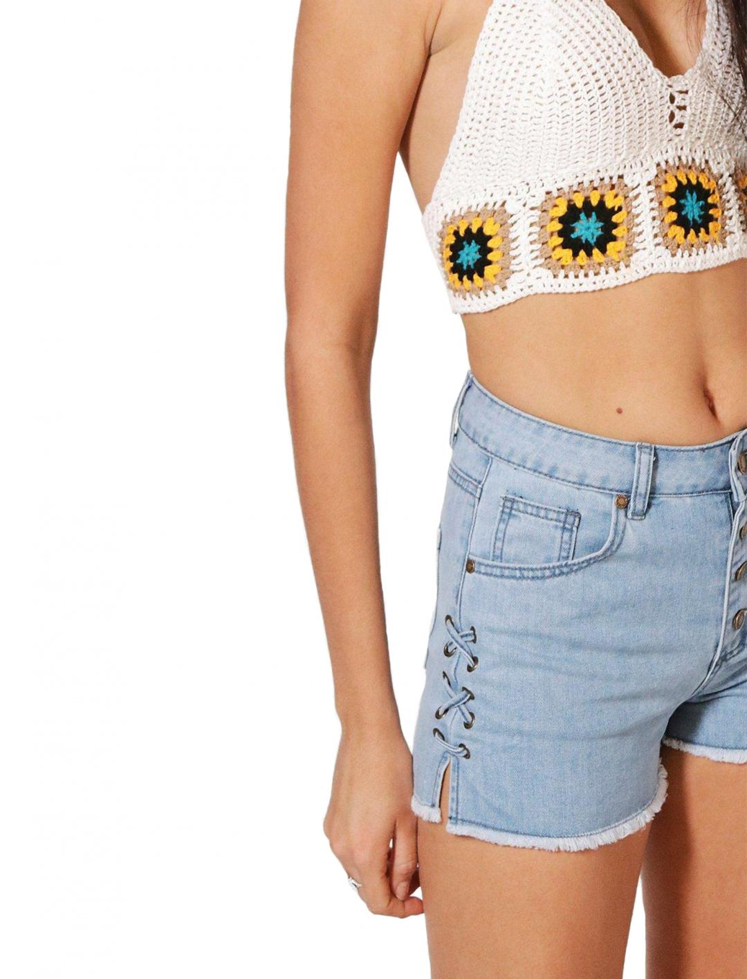 "Denim Shorts {""id"":5,""product_section_id"":1,""name"":""Clothing"",""order"":5} Boohoo"