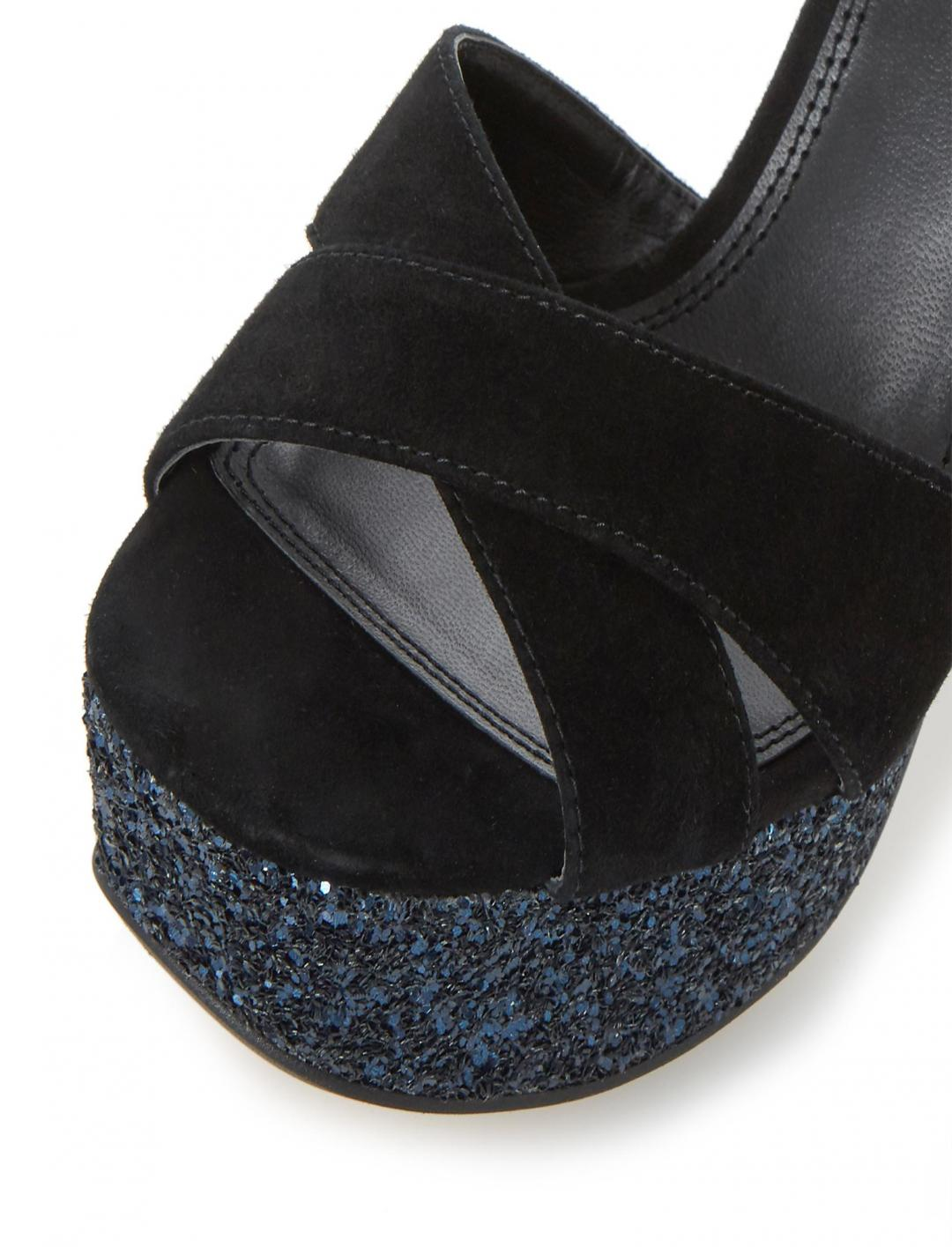 Cross Strap Sandal Shoes Dune Ladies