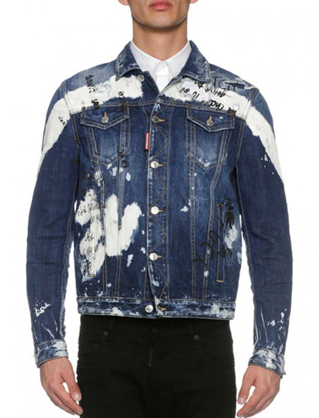 """Pink's Painted Jacket {""""id"""":5,""""product_section_id"""":1,""""name"""":""""Clothing"""",""""order"""":5} Dsquared2"""