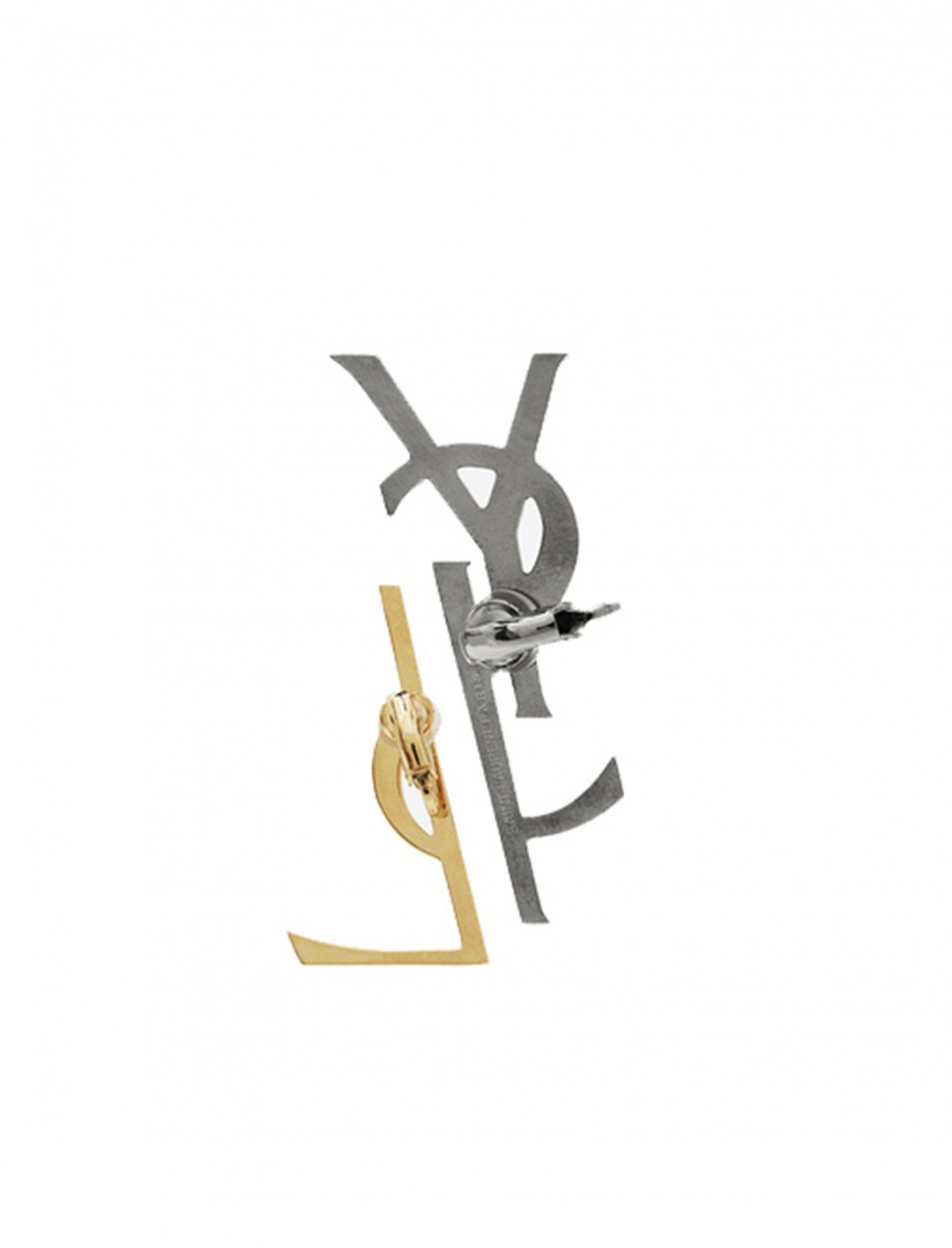 """Pink's Monogram Earrings {""""id"""":16,""""product_section_id"""":1,""""name"""":""""Accessories"""",""""order"""":15} YSL"""