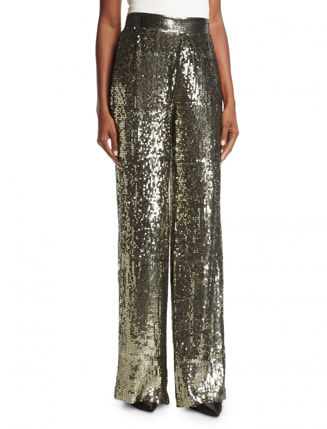 """Pink's Sequin Pants {""""id"""":5,""""product_section_id"""":1,""""name"""":""""Clothing"""",""""order"""":5} Alice + Olivia"""