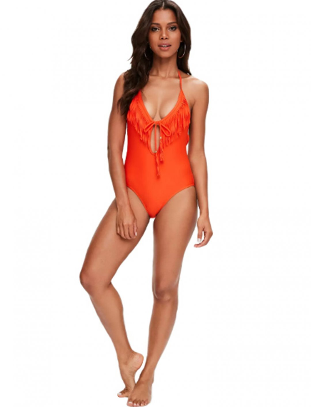 """Orange Tassel Swimsuit {""""id"""":5,""""product_section_id"""":1,""""name"""":""""Clothing"""",""""order"""":5} Missquided"""