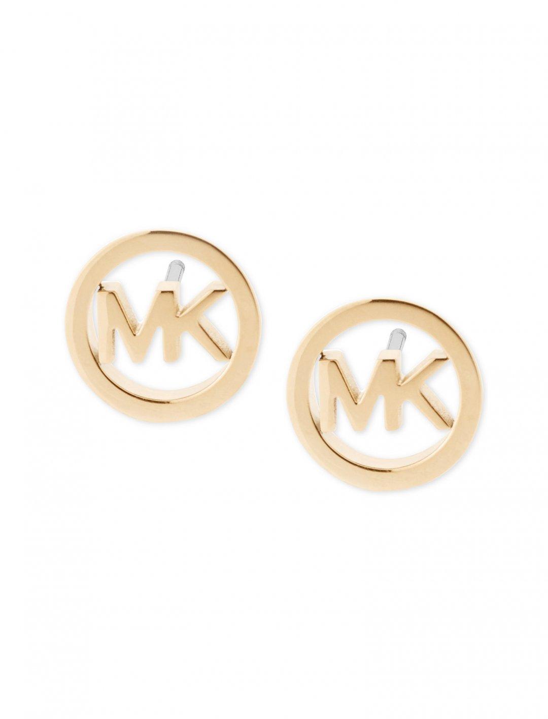 "Logo Stud Earrings {""id"":10,""product_section_id"":1,""name"":""Jewellery"",""order"":10} Michael Kors"