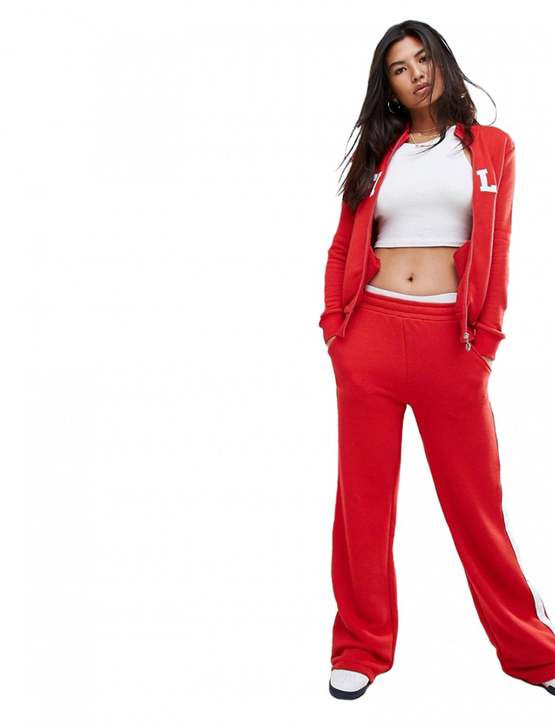 """Bottoms With Side Stripe {""""id"""":5,""""product_section_id"""":1,""""name"""":""""Clothing"""",""""order"""":5} Fila"""