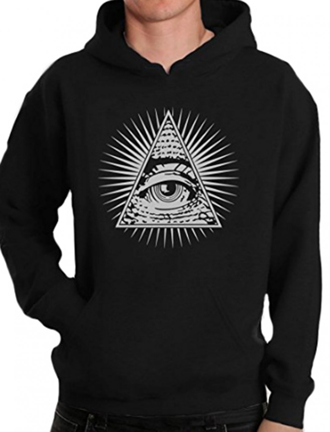 """Illuminati Triangle Hoodie {""""id"""":5,""""product_section_id"""":1,""""name"""":""""Clothing"""",""""order"""":5} Green Turtle T-Shirts"""