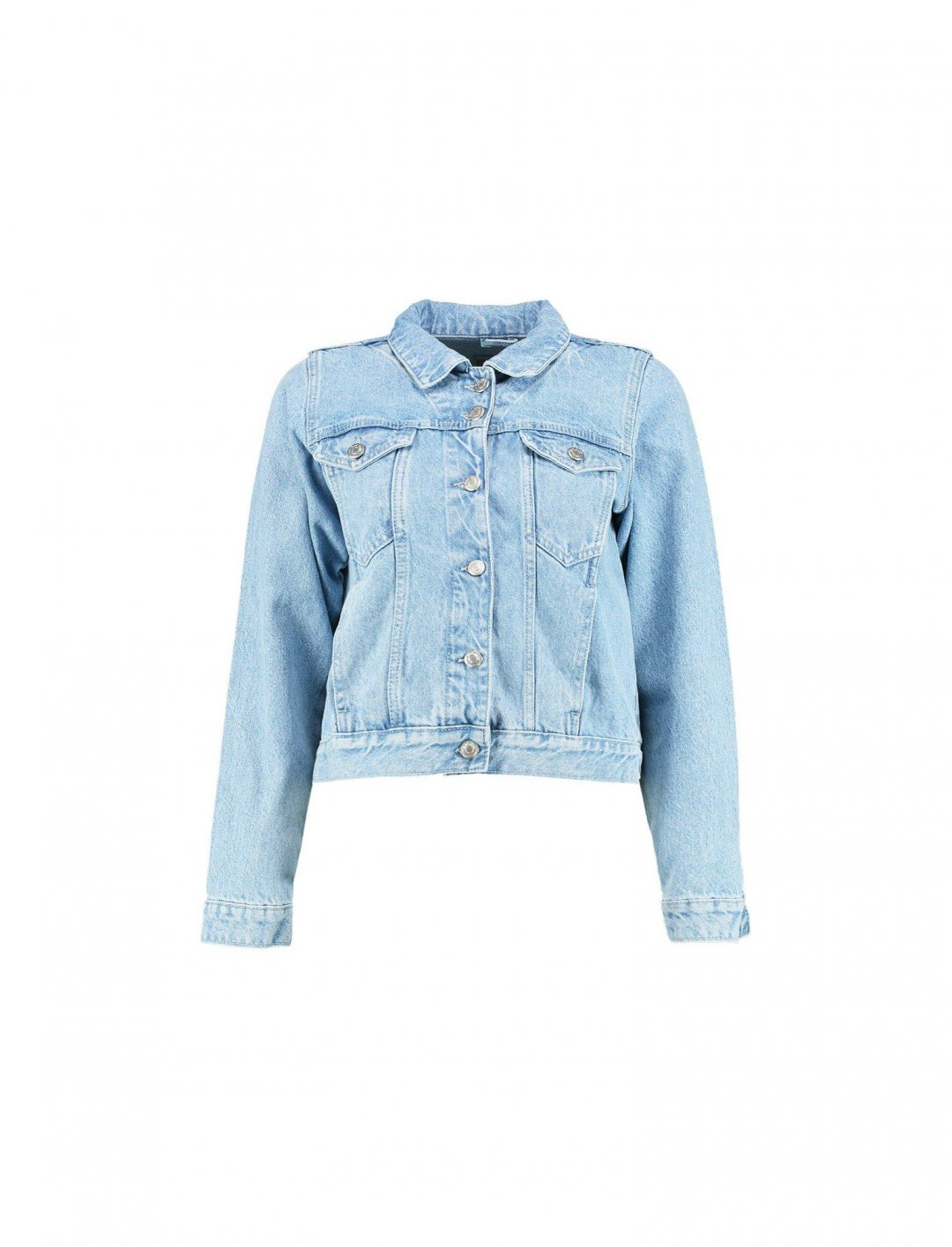 "Rachel's Denim Jacket {""id"":5,""product_section_id"":1,""name"":""Clothing"",""order"":5}"