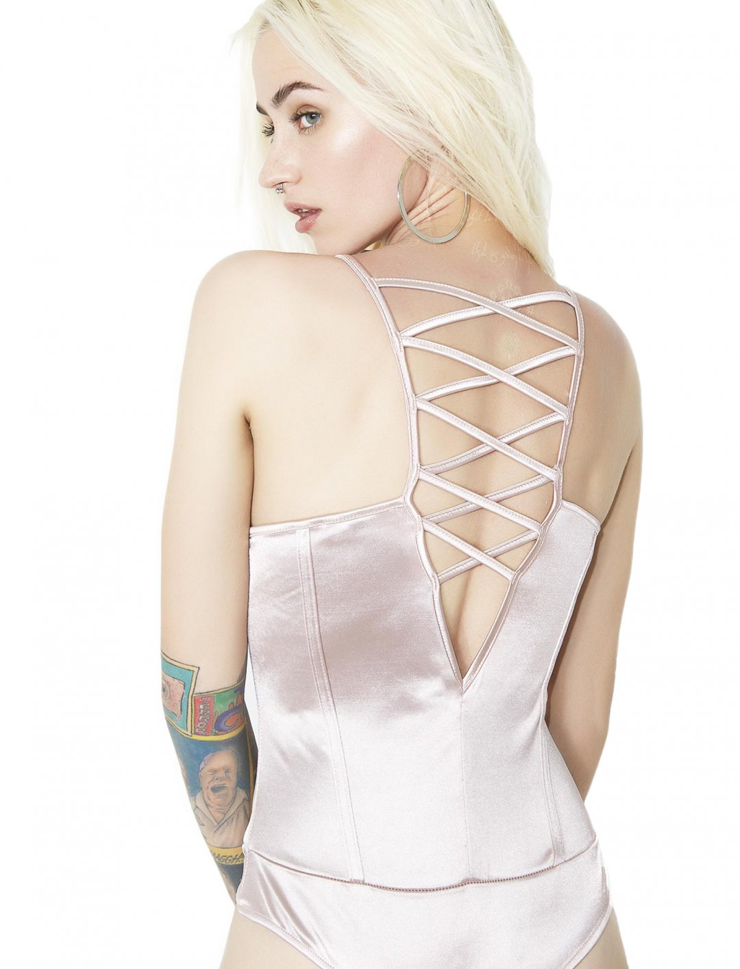 """Pink's Bodysuit {""""id"""":5,""""product_section_id"""":1,""""name"""":""""Clothing"""",""""order"""":5} Dollskill"""