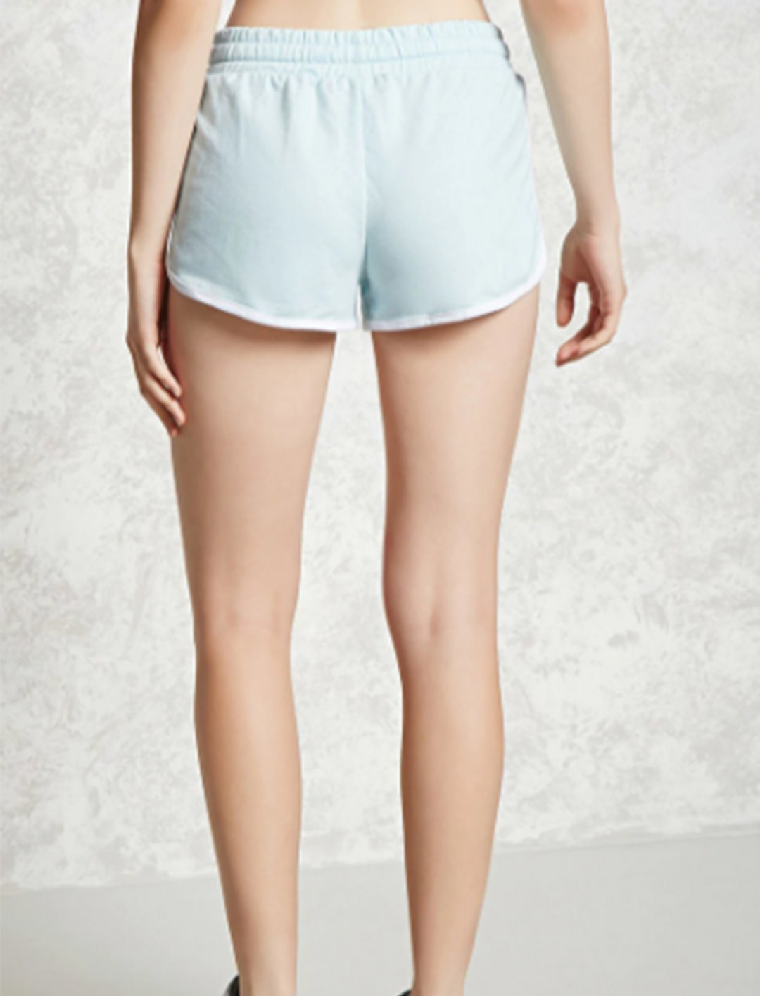 "Drawstring Dolphin Shorts {""id"":5,""product_section_id"":1,""name"":""Clothing"",""order"":5} Forever 21"