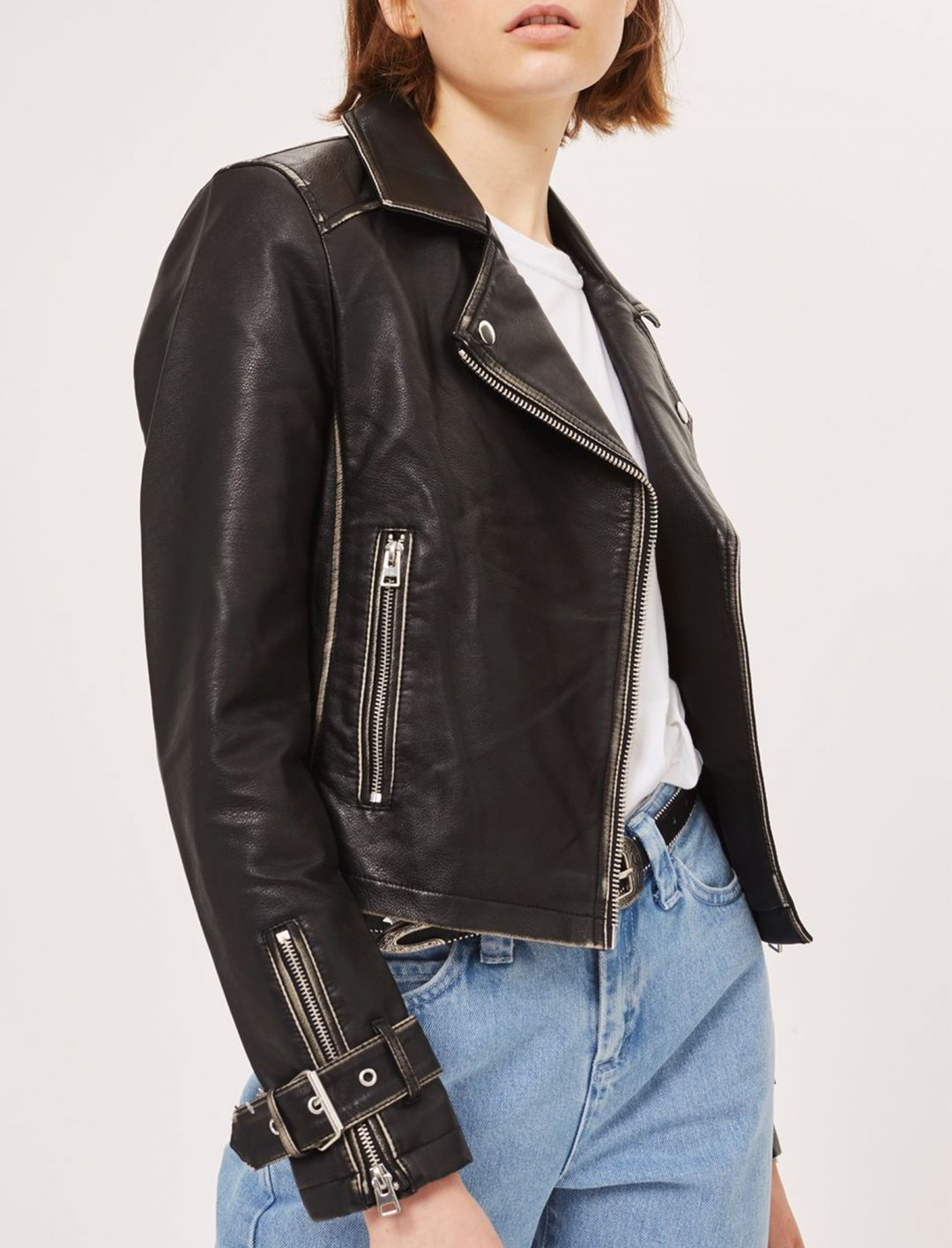 "Biker Jacket {""id"":5,""product_section_id"":1,""name"":""Clothing"",""order"":5} Topshop"