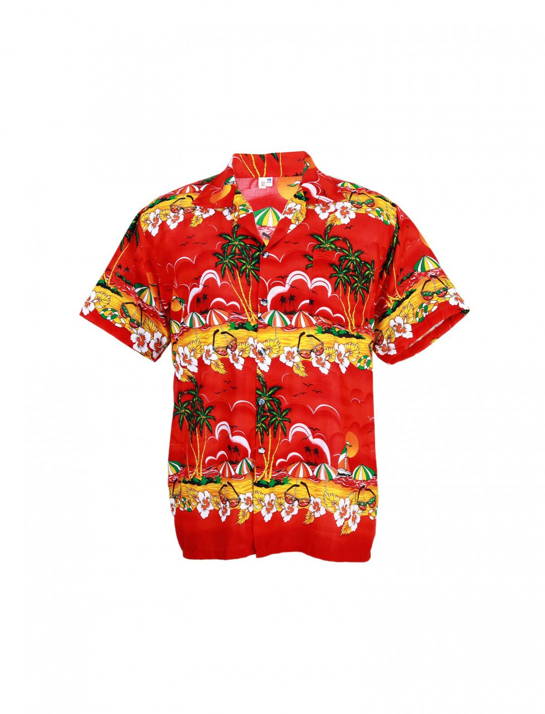 "Hawaiian Aloha Shirt {""id"":5,""product_section_id"":1,""name"":""Clothing"",""order"":5} Tropical Paradise"
