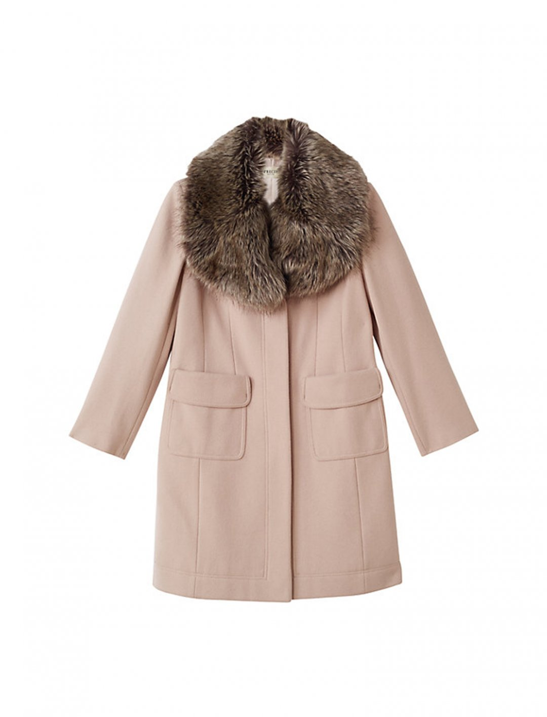 "Faux Fur Collar Coat {""id"":5,""product_section_id"":1,""name"":""Clothing"",""order"":5} John Lewis"