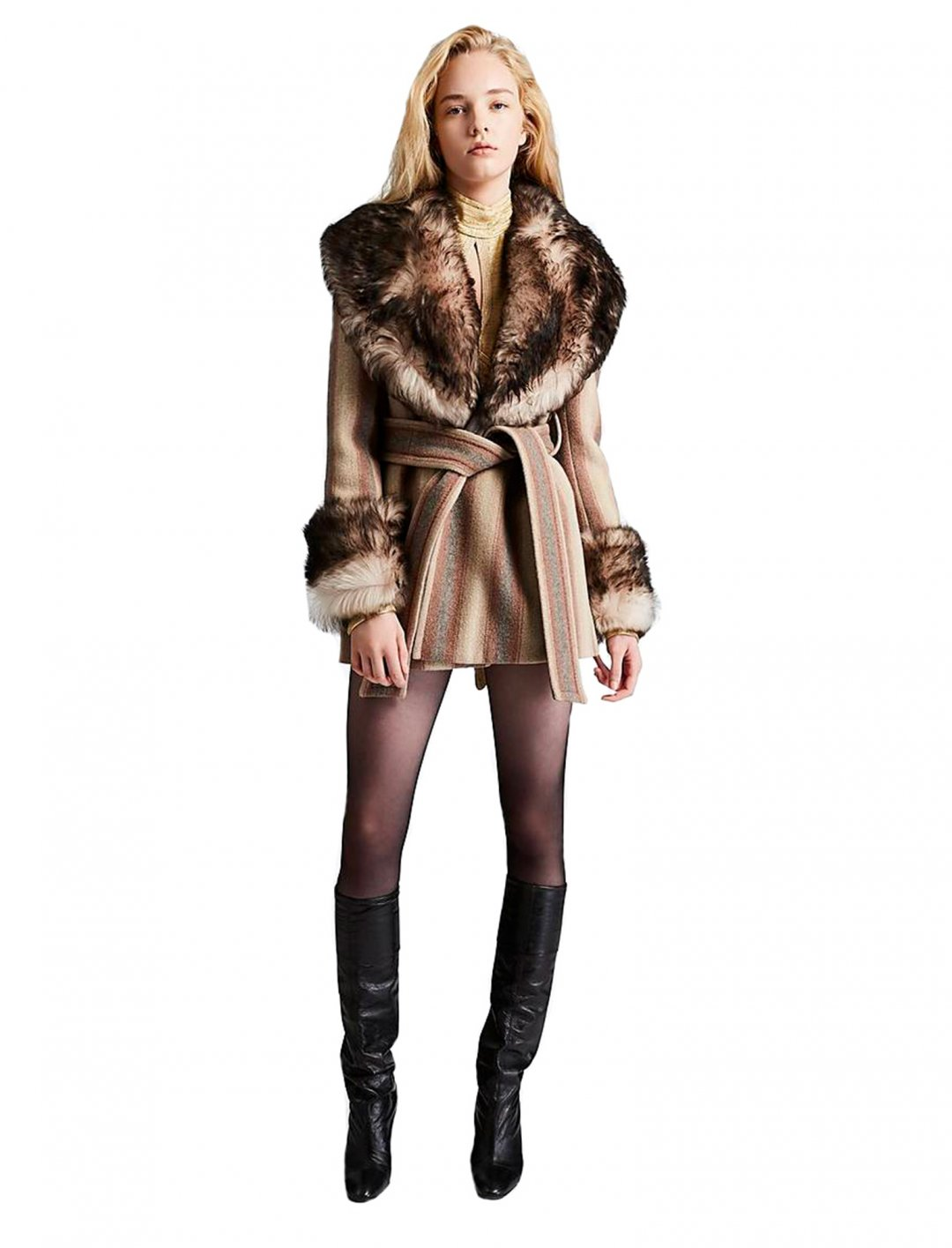 "Fur Collar Coat {""id"":5,""product_section_id"":1,""name"":""Clothing"",""order"":5} Marc Jacobs"
