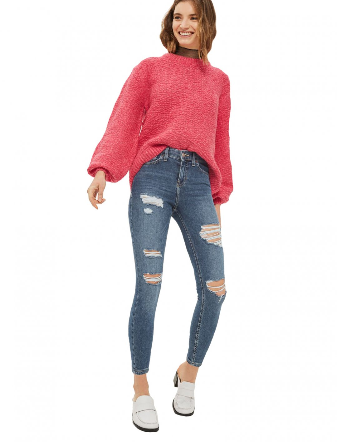 "Camila's Ripped Jamie Jeans {""id"":5,""product_section_id"":1,""name"":""Clothing"",""order"":5} Topshop"