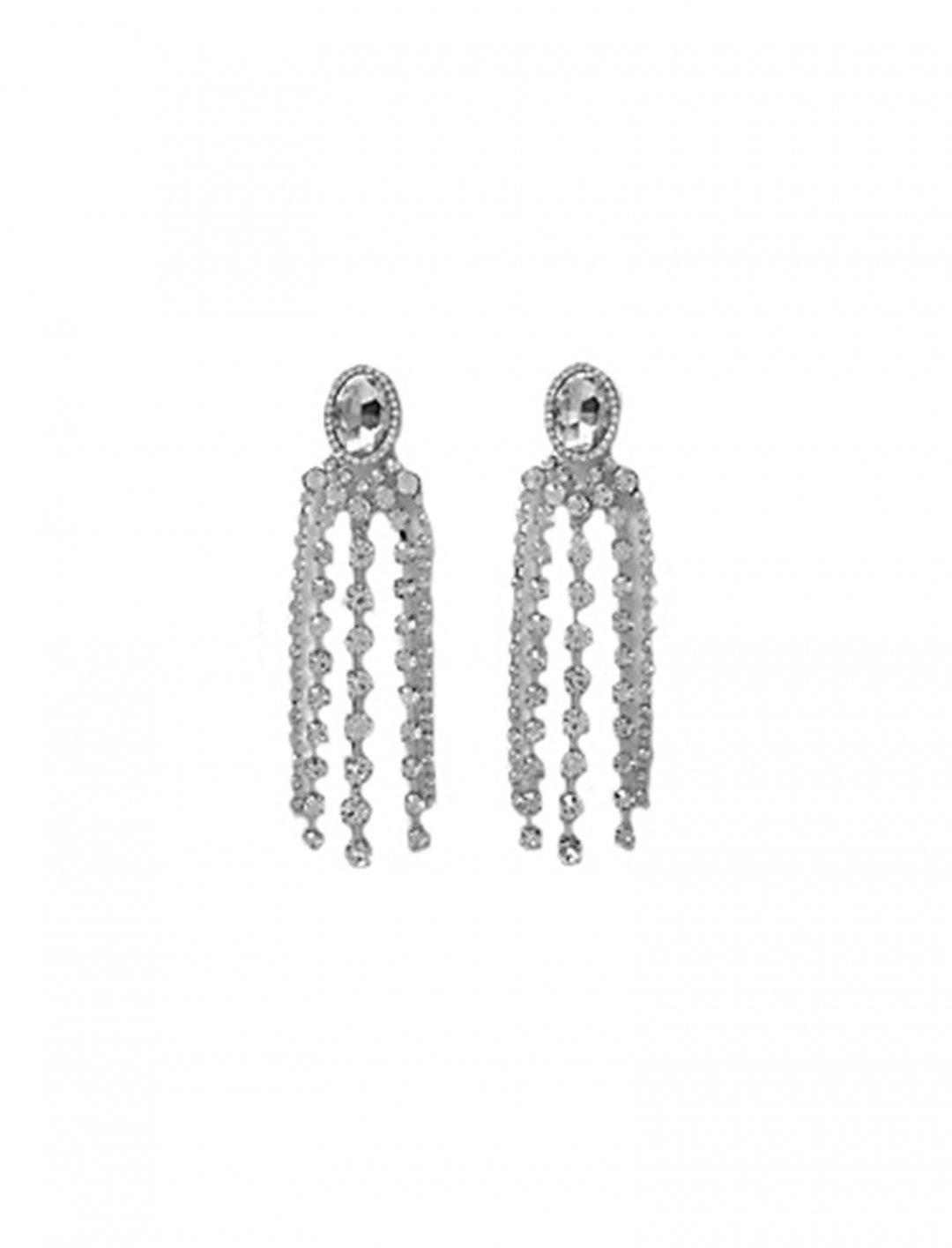 "Diamante Jewel Dangle Earrings {""id"":10,""product_section_id"":1,""name"":""Jewellery"",""order"":10} River Island"
