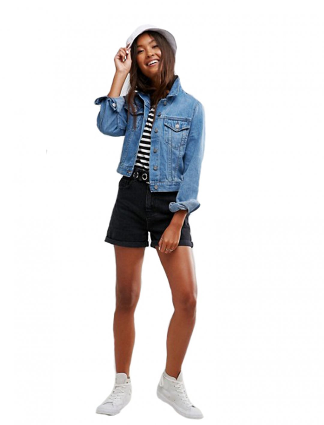 "Denim Shrunken Jacket {""id"":5,""product_section_id"":1,""name"":""Clothing"",""order"":5} Asos"