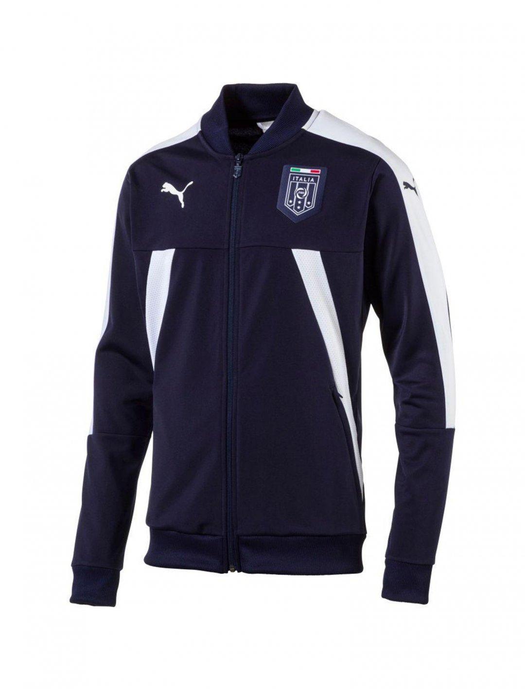 """Italia Stadium Track Jacket {""""id"""":5,""""product_section_id"""":1,""""name"""":""""Clothing"""",""""order"""":5} Puma"""