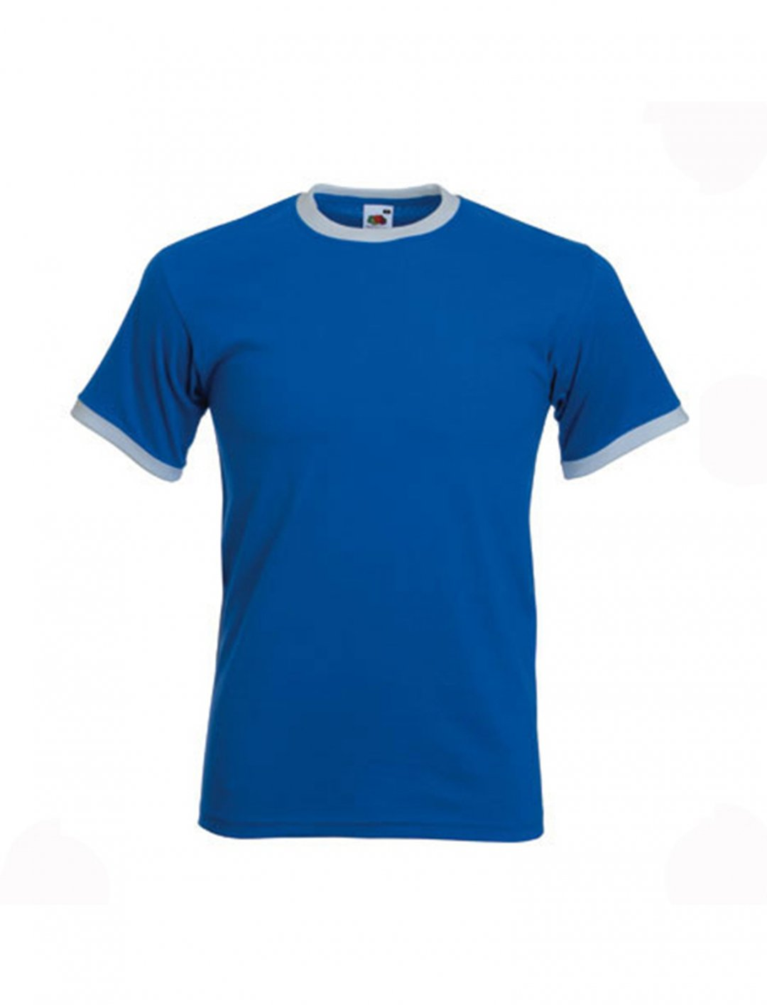 """Blue Ringer Tee {""""id"""":5,""""product_section_id"""":1,""""name"""":""""Clothing"""",""""order"""":5} Fruit of the Loom"""