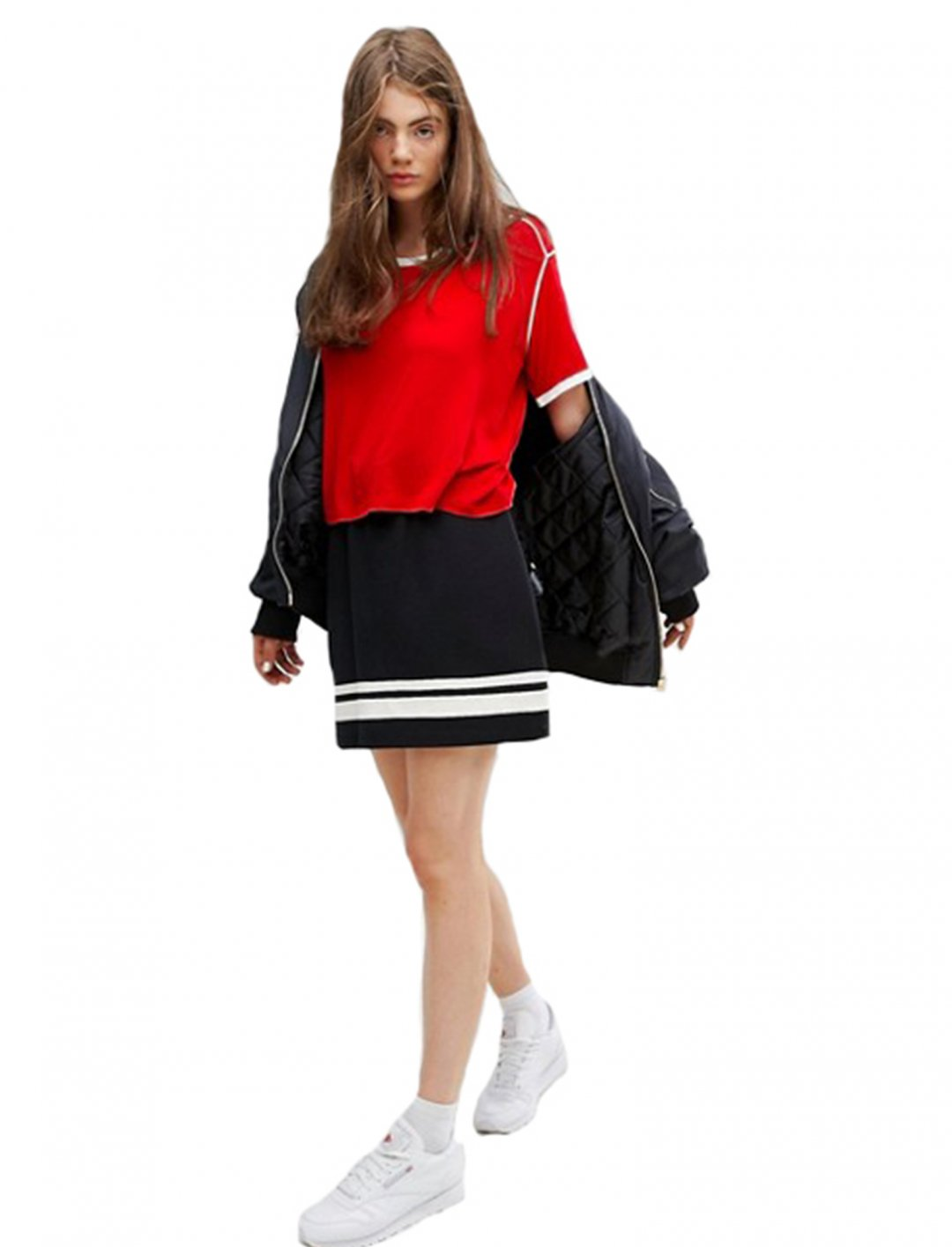 """Red Retro T-Shirt {""""id"""":5,""""product_section_id"""":1,""""name"""":""""Clothing"""",""""order"""":5} Weekday"""