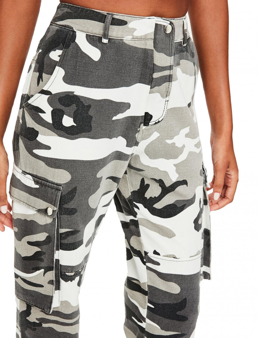 """Printed Cargo Trouser {""""id"""":5,""""product_section_id"""":1,""""name"""":""""Clothing"""",""""order"""":5} Missguided"""