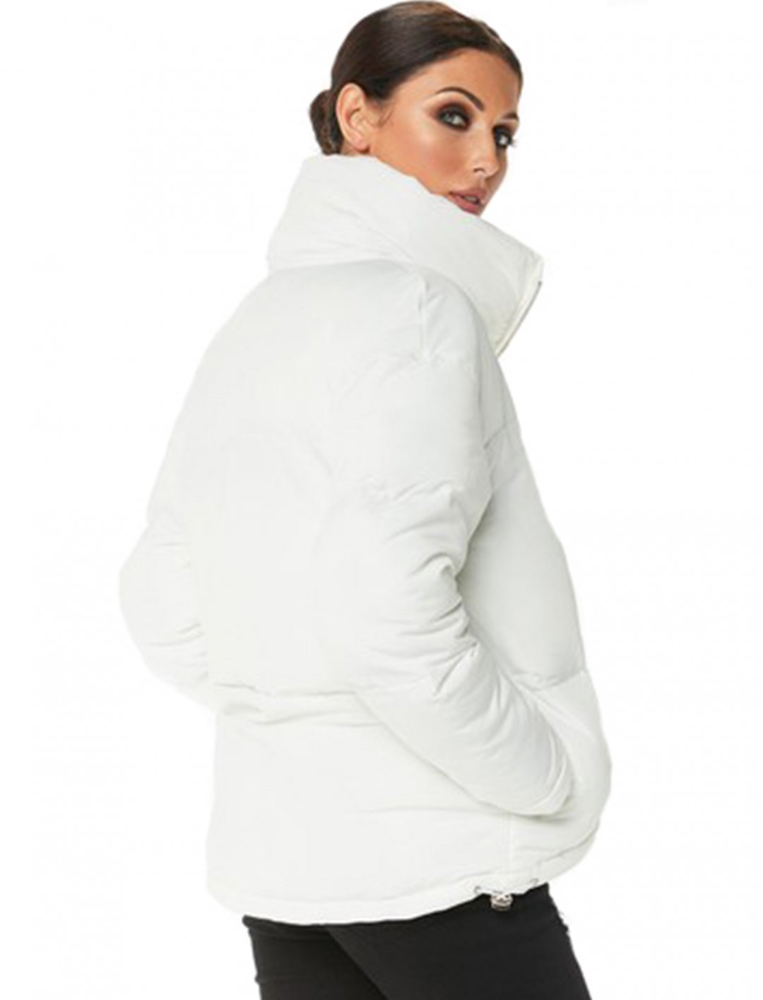 """White Puffer Jacket {""""id"""":5,""""product_section_id"""":1,""""name"""":""""Clothing"""",""""order"""":5} Misspap"""