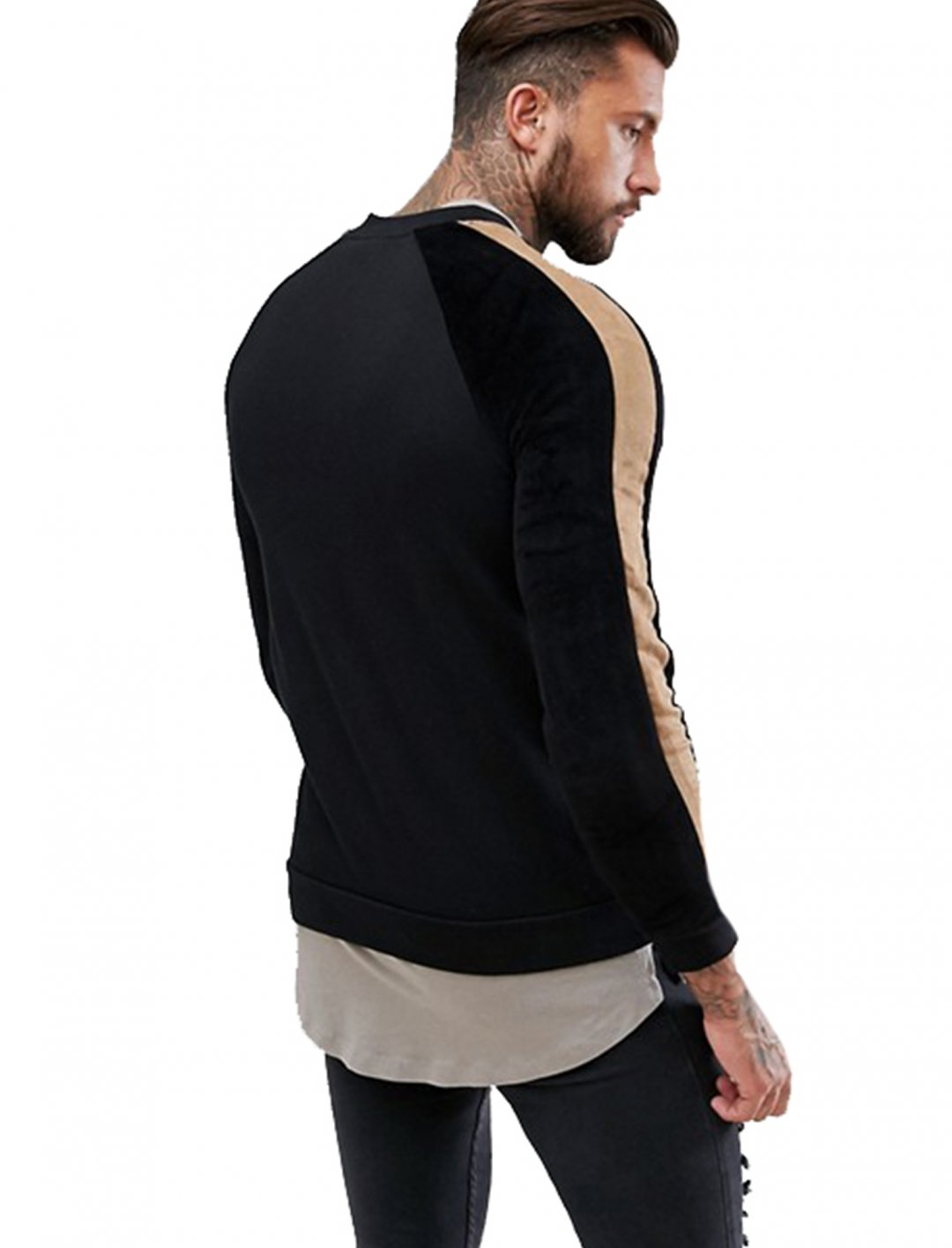 """Jersey Bomber Jacket {""""id"""":5,""""product_section_id"""":1,""""name"""":""""Clothing"""",""""order"""":5} Asos"""