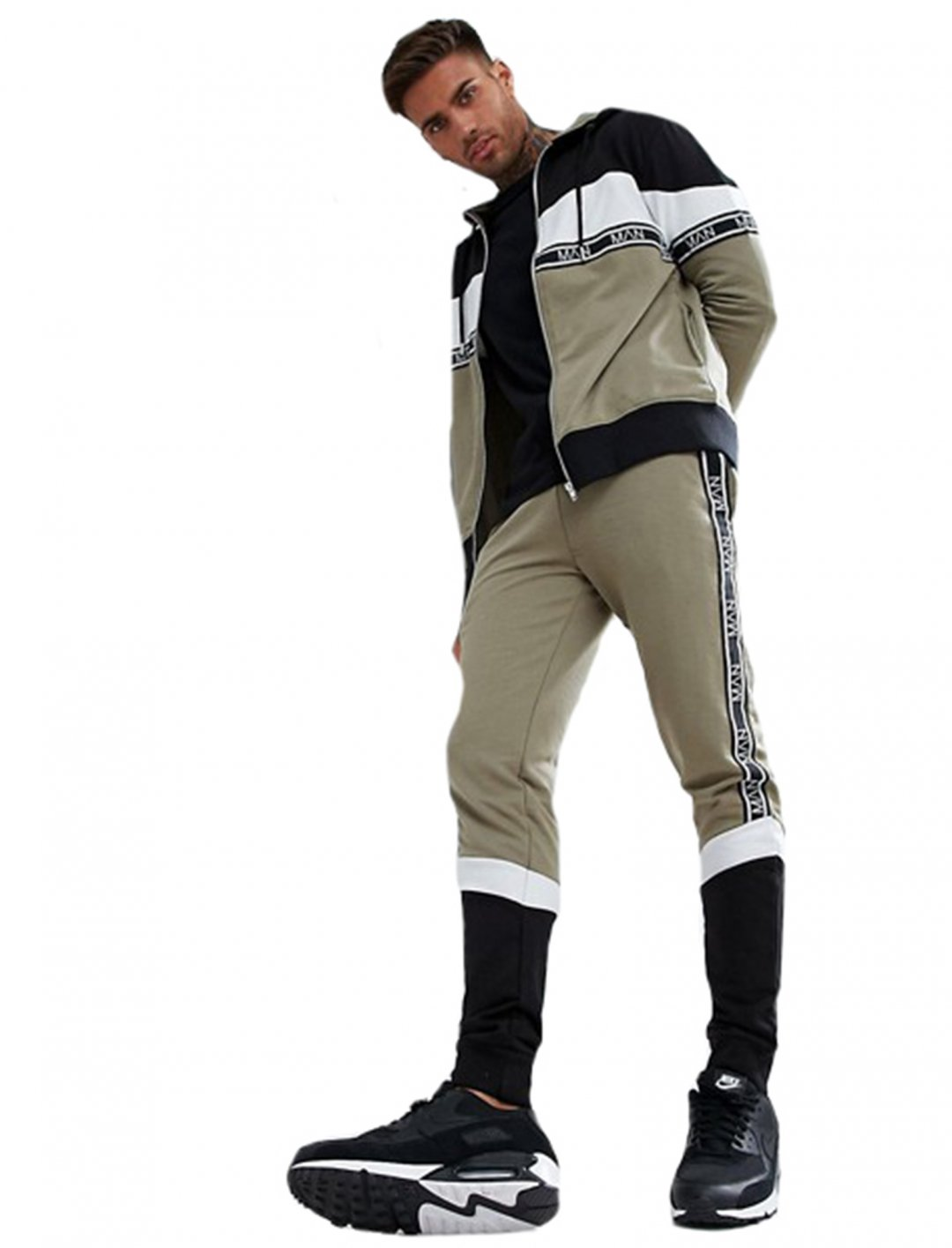 """Jacket With Block Detail {""""id"""":5,""""product_section_id"""":1,""""name"""":""""Clothing"""",""""order"""":5} Boohoo"""