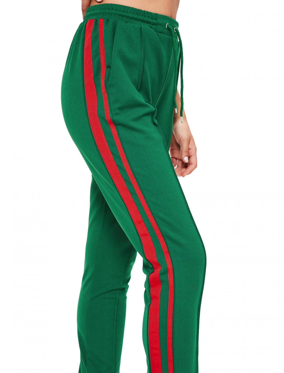 """Stripe Side Joggers {""""id"""":5,""""product_section_id"""":1,""""name"""":""""Clothing"""",""""order"""":5} Missguided"""