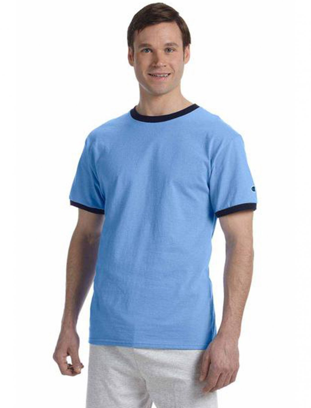 """Ringer T-Shirt {""""id"""":5,""""product_section_id"""":1,""""name"""":""""Clothing"""",""""order"""":5} Champion"""