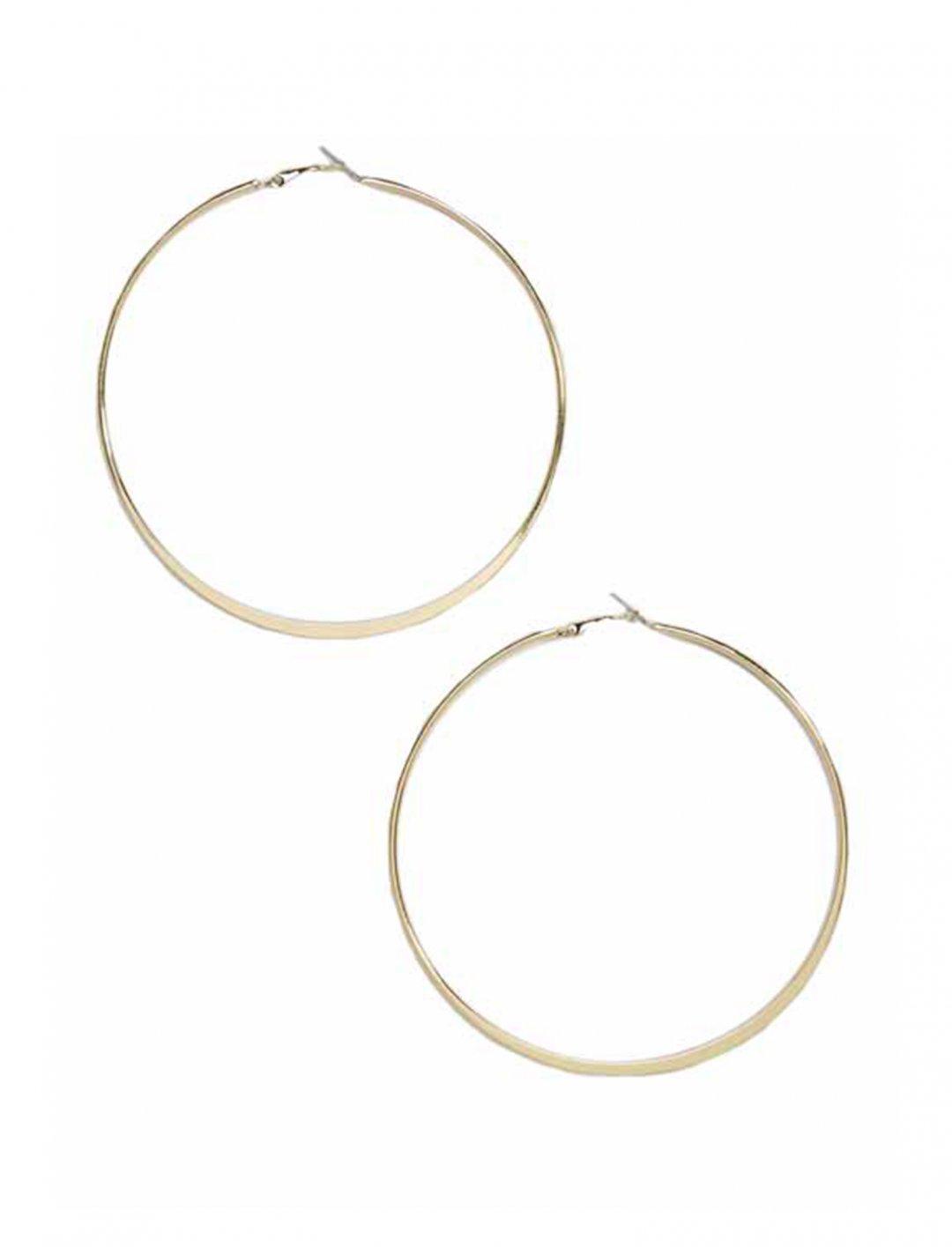 "Oversized Hoop Earrings {""id"":10,""product_section_id"":1,""name"":""Jewellery"",""order"":10} DesignB London"