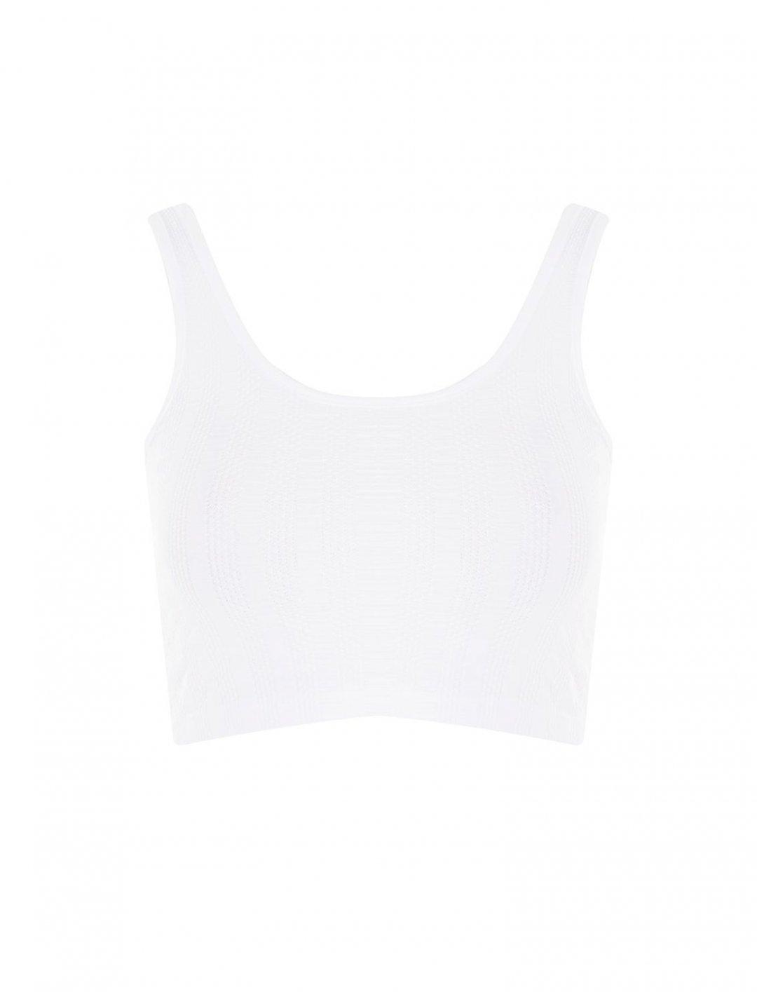 Ribbed Crop Vest Clothing Topshop