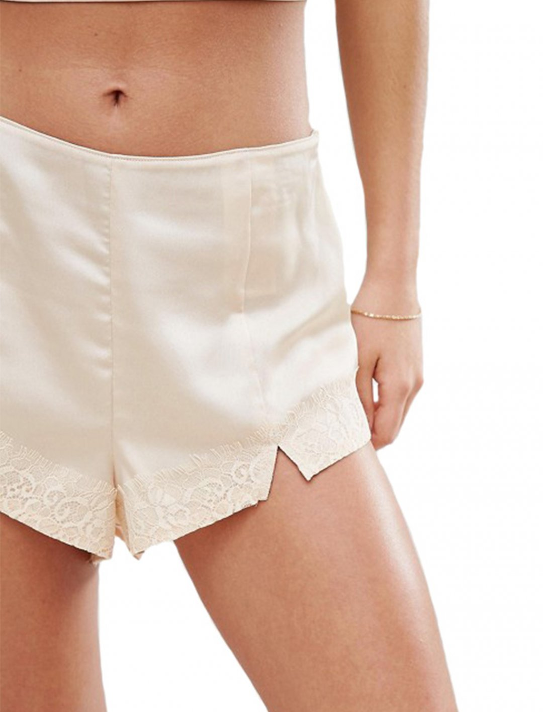Champagne Shorts Clothing Y.A.S