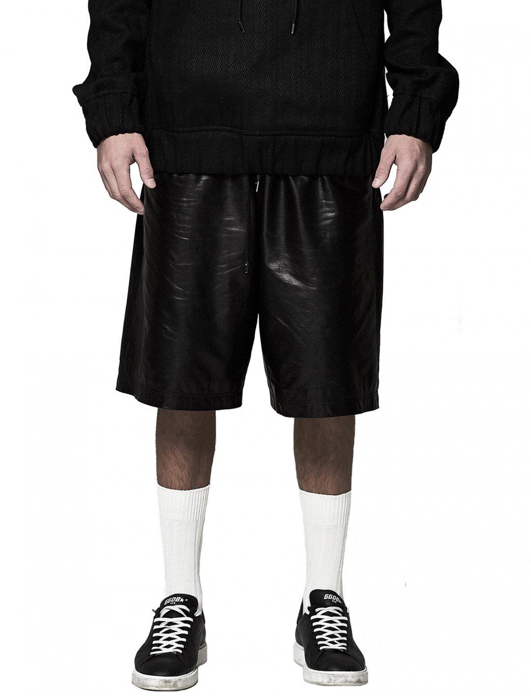 J LO's Lambskin Shorts Clothing Camouflaged