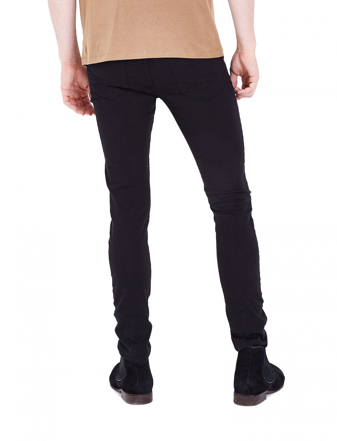 Ripped Knee Skinny Jeans Clothing New Look