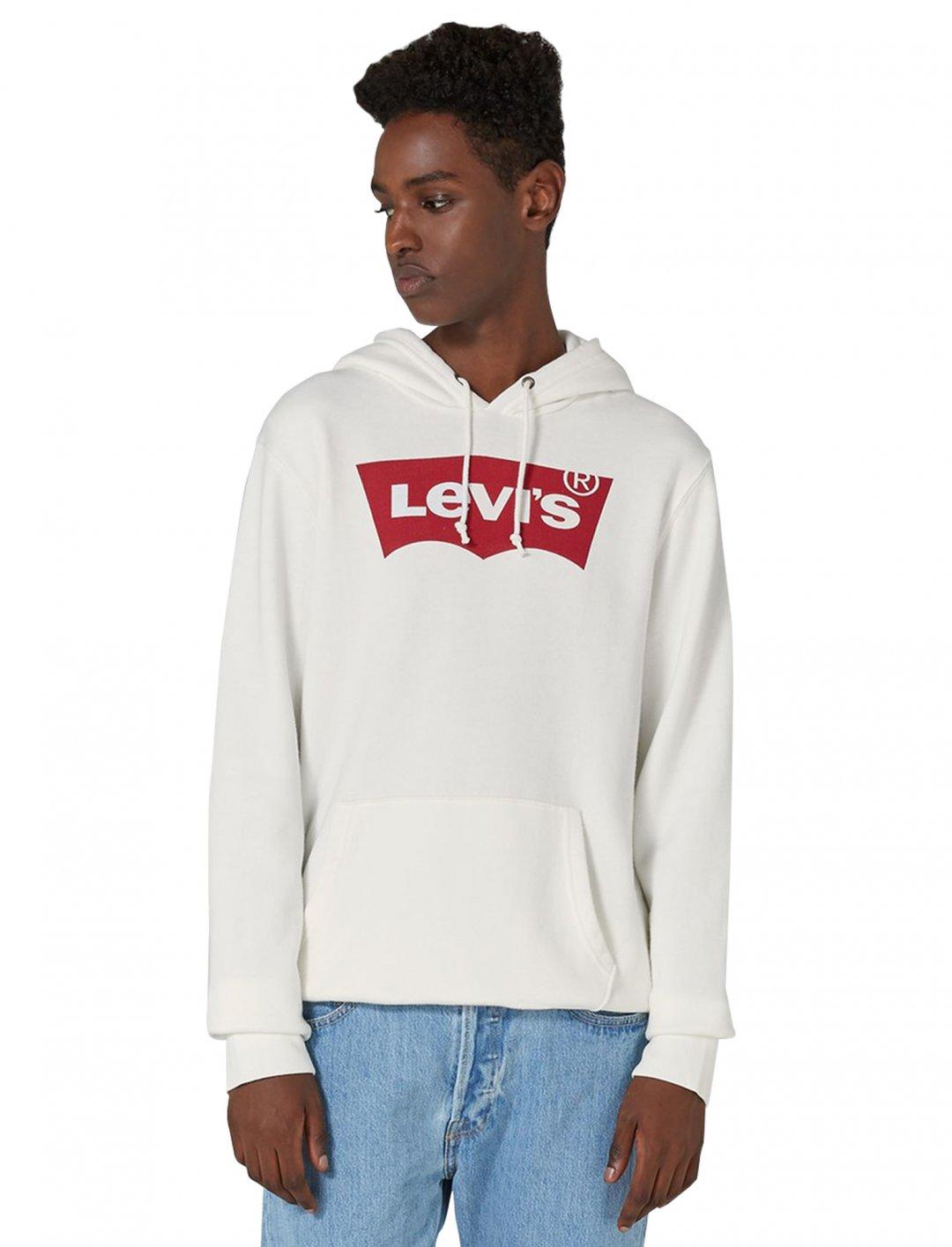 LEVI'S Cream Hoodie Clothing Levi's