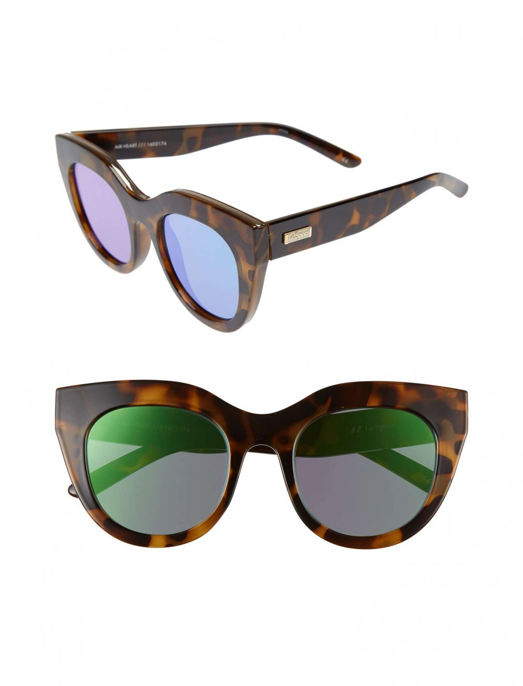 "Air Heart 51mm Sunglasses {""id"":16,""product_section_id"":1,""name"":""Accessories"",""order"":15} Le Specs"