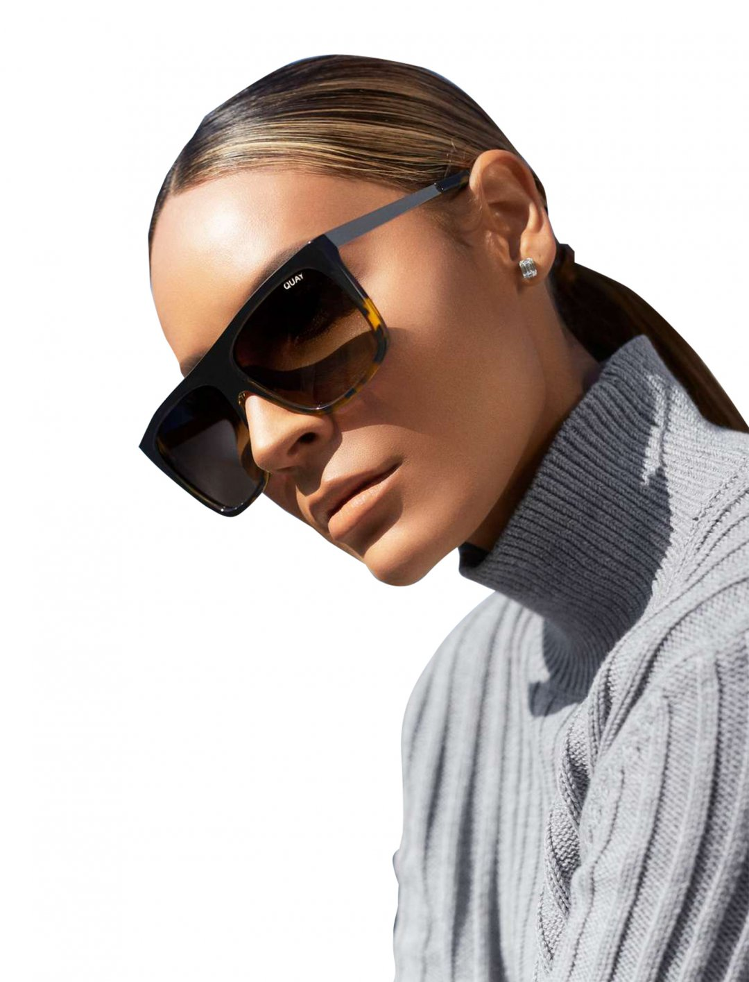 "x Desi Perkins Square Sunglasses {""id"":16,""product_section_id"":1,""name"":""Accessories"",""order"":15} Quay Australia"