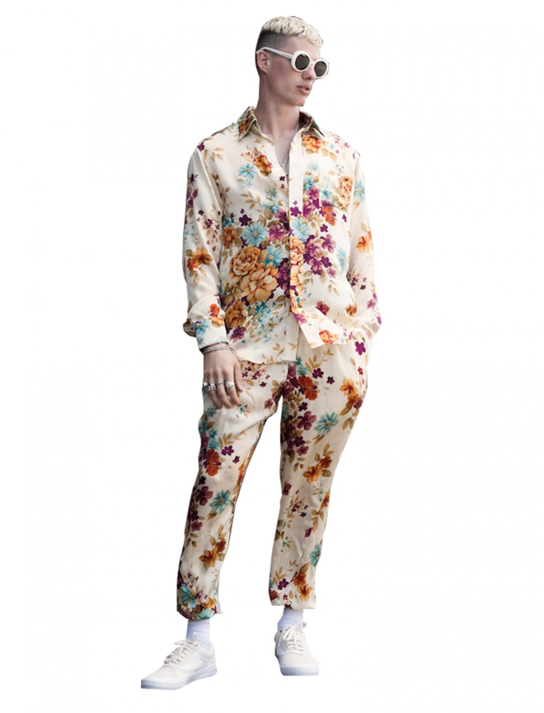 """Olivia's Silk Floral Shirt {""""id"""":5,""""product_section_id"""":1,""""name"""":""""Clothing"""",""""order"""":5} Rideau Design"""