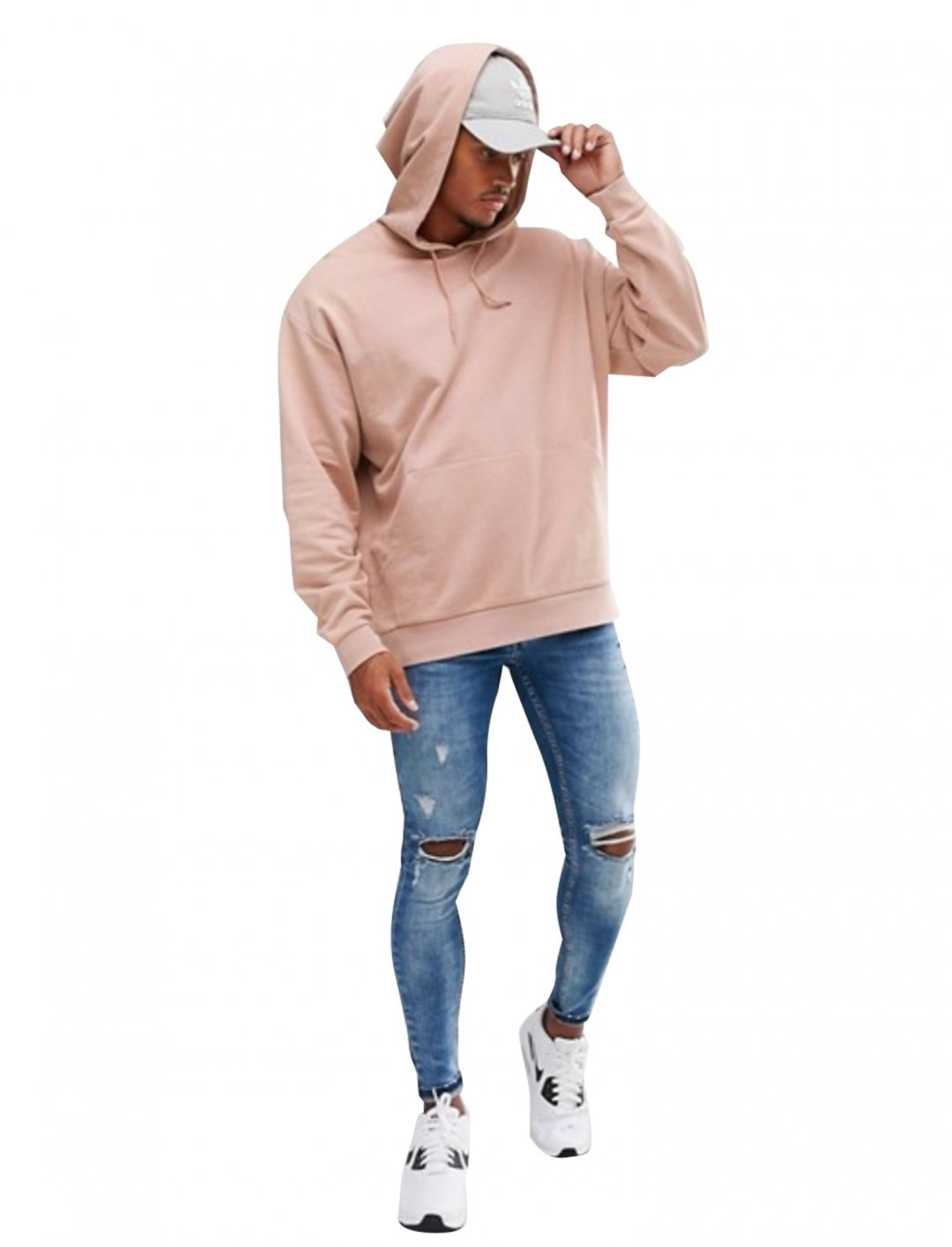 """Oversized Hoodie in Pink {""""id"""":5,""""product_section_id"""":1,""""name"""":""""Clothing"""",""""order"""":5} Asos"""