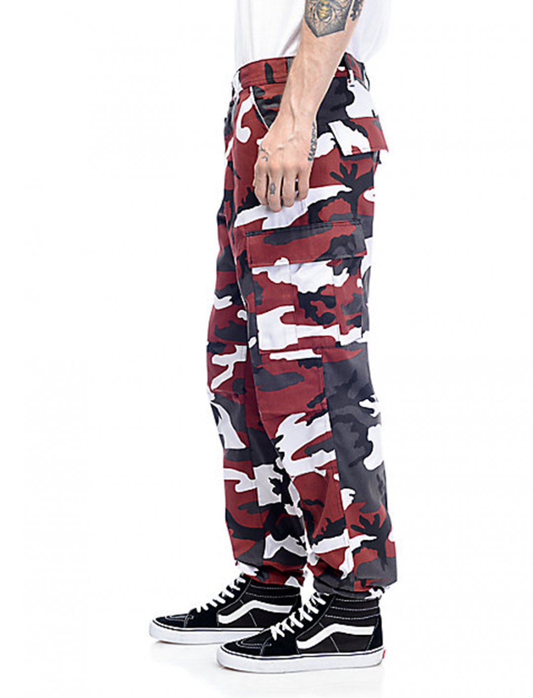 """Camo Cargo Pants {""""id"""":5,""""product_section_id"""":1,""""name"""":""""Clothing"""",""""order"""":5} Rothco BDU"""